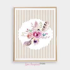 Flower Bouquet Printable Wall Art Shabby By Loveinspiredstudio