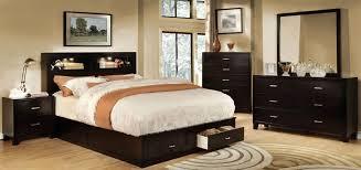 Platform Bedroom Set by Gerico Ii Dark Espresso Storage Platform Bedroom Set From