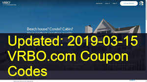 VRBO.com Coupon Codes: 3 Valid Coupons Today (Updated: 2019 ...
