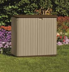 Suncast Patio Storage And Prep by Furniture Interesting Suncast Storage Shed For Outdoor Storage