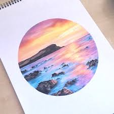 Watercolor Drawing Ideas Color Pencil Art