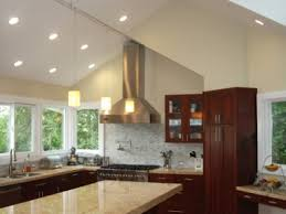 Lighting For Sloped Ceilings by Kitchen Galley Kitchen Track Lighting Flatware Cooktops Galley