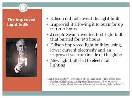 bright ideas emerging from the edison ppt