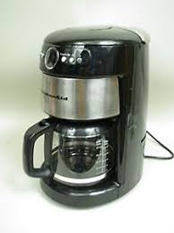 Image Is Loading KitchenAid 14 Cup Glass Carafe Coffee Maker KCM2220BO