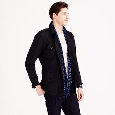 J.crew Wallace & Barnes Military Jacket In Black For Men | Lyst Jcrew Wallace Barnes Pieced A2 Bomber Jacket In Green For Men Jcrew Mens Lweight Military Jacket Garment Cpo Black Lyst English Wool Turtleneck Sweater Sherpacollar Contrast August 2016 Style Guide Pleated Shorts Guides Shetland Cardigan Military Denim Workshirt Sussex Quilted Marled Cotton Anchorknit Japanese Blue Shortsleeve Indigo Sweatshirt