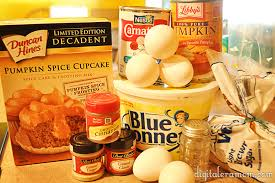 Ingredients For Pumpkin Pie Mix by Duncan Hines Archives Mama Plus One