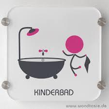 bad für kinder schild