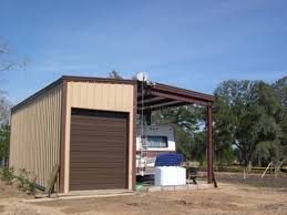 Metal RV Storage In Monticello FL