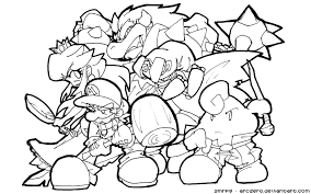 Coloring Pages Super Mario