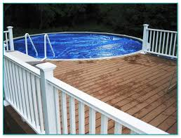 Above Ground Pool Deck Images by Great Above Ground Pool Decks Cost