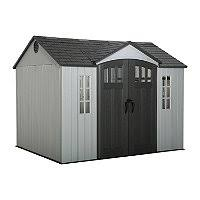 lifetime 10 8 outdoor storage shed sam s club