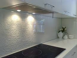 Love This Textured Glass Splashback Classic Style