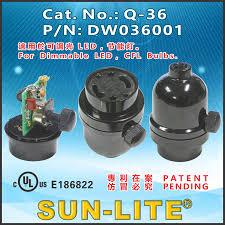 sun lite manufacturer of lampholder switch receptacle