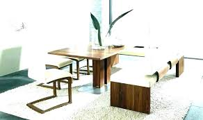 Dining Room Corner Bench Table With Upholstered Benches