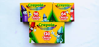 Crayola Bathtub Crayons Collection by 64 96 120 Count Big Box Redesign Jenny U0027s Crayon Collection