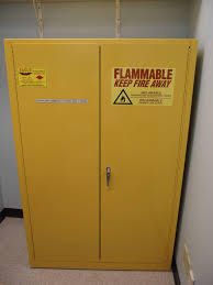 Grounding Of Flammable Cabinet Justrite by Fuel Storage Cabinet 30 Gallons Selfclosing Doors Flammable