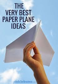 To Good Printables Step By Instructions And Videos The Very Best Paper Plane Ideas