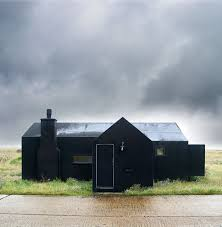 100 Rubber House Dungeness Black Rubber Architecture Beach House Simon Conder