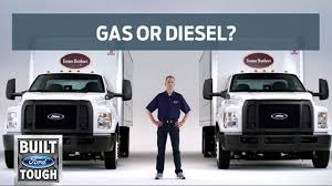 Ford Medium Duty: Gas Or Diesel Trucks? | Commercial Trucks | Ford ... 2017 Ford F650xlt Extended Cab 22 Feet Jerrdan Shark Bed Rollback 2012 Ford F650 To Be Only Mediumduty Truck With Gas V10 Power 1958 Medium Duty Trucks F500 F600 1 12 2 Ton Sales 1999 F450 Tpi Built Tough F350 Flatbed F750 Plugin Hybrid Work Truck Not Your Little Leaf Sonny Hoods For All Makes Models Of Heavy 3cpjf Builds New In Tucks And Trailers At Amicantruckbuyer 2018 Sd Straight Frame Pickup Fordca Unique Super Wikiwand Cars
