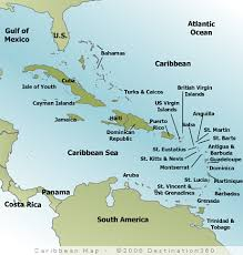 Caribbean Map Of The Maps