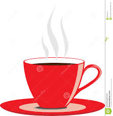 Red Coffee Cup Stock Vector Illustration Of Morning