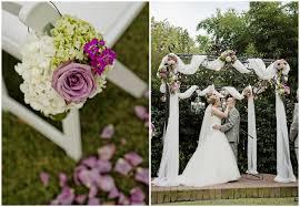 Purple And Gray Garden Wedding 2
