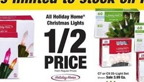 Fred Meyer Christmas Trees by All Holiday Home Christmas Lights 50 Off At Fred Meyer On Black