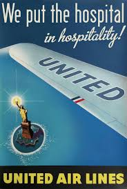 Vintage United Airlines Advertisement