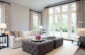 Living Room Curtain Ideas Beige Furniture by Sublime Tufted Ottoman Diy Decorating Ideas Gallery In Living Room