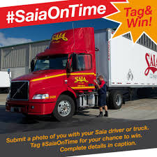 Saia - Don't Forget To Post Your #SaiaOnTime Selfie With... | Facebook A Complete Picture Saia Uses Technology To Advance Safety Expanding Ltl Business Trucking History Of The Trucking Industry In United States Wikipedia Careers Saiacareers Twitter Company Zooms Past Earnings Estimates Motor Freight Burr Ridge Illinois Transportation Service Freightliner Cascadia With Triples Flickr Iama Former Truck Driving Instructor Truckers Are Killed More Often Un Fkin Believable Saia Rant River Daves Place Ups