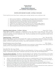 Resume For General Job Managers Manager Sample Hotel