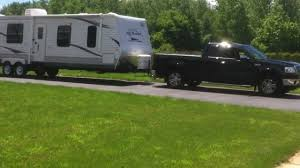 F150 Hooked Up To 8,200 Pound Camper - YouTube