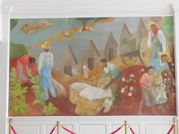 Harlem Hospital Wpa Murals by Harlem Hospital Hayes Mural New York Ny Living New Deal