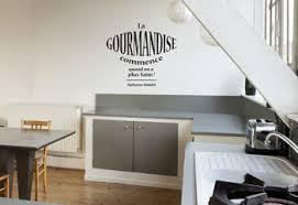 stickers citations cuisine autocollant mural pour cuisine citation texte gourmandise d alphonse