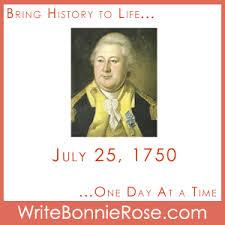 Timeline Worksheet July 25 1750 Henry Knox Is Born Celebrate