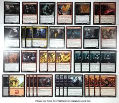 Magic The Gathering Premade Decks Ebay by Http Www Ebay Com Itm Mtg Black Red Vampire Madness Deck Magic