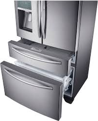 Samsung Cabinet Depth Refrigerator Dimensions by Samsung Rf22kredbsr 36 Inch Counter Depth 4 Door French Door