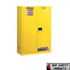 justrite flammable cabinet model 25545 keys 45 us gallon storage