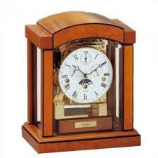 Bulova Table Clocks Wood by Kieninger Carlton Mantel Clock 1242 41 02 Home Improveement