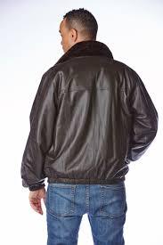 men u0027s sheared beaver jacket reversible to leather sakowitz furs