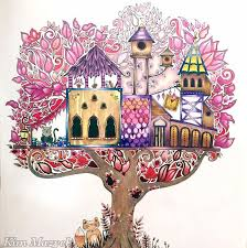 Johanna Basfords Enchanted Forest Coloring BooksColouringForestsColouring