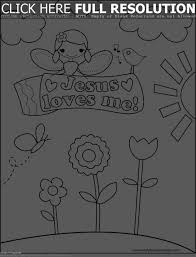 Adult Jesus Loves Me Coloring Page Picture Of Ascending To Heaven