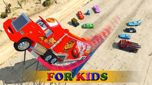 Construction Videos - Disney Pixar Cars Mack Truck Lightning ... Car Carrier Truck With Spiderman Cartoon For Kids And Nursery Lightning Mcqueen Cars Truck In Monster Shapes Songs Children The Song Ambulance Music Video Youtube Garbage By Blippi Fire Engine For Videos Wheels On Original Rhymes Baby Finger Family Trucks Surprise Eggs Titu Recycling Twenty Numbers