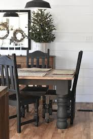 Winter I Farmhouse Christmas Kitchen And Dining Room Tour | Black ... Southern Enterprises Black Walnut Coronado Farmhouse Ding Table 88 Newest Design Ideas For Room Mercana 67847 Nell Chair Matte Blackbrown Inspirierend Industrial Plans Lighting Small Round And Cotswold Set With 4 Chairs Sets Dixon Metal Armchair At Home Ibiza Ding Chair Black French Ladder Back The Burford Only Rustic Made From Reclaimed Wood Legs