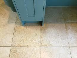 Polished Limestone Floor Before Cleaning Ashton Village