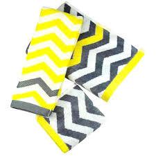 Gray Chevron Bathroom Set by Chevron Bathroom Turquoise Ideas Yellow And Gray Decor Grey Set