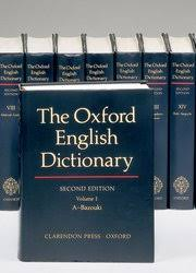 Oxford University Press Uk Exam Copy by The Oxford English Dictionary John Simpson Edmund Weiner
