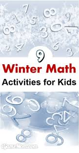 9 Cool Winter Math Activities For Kids PreK To Grade 12