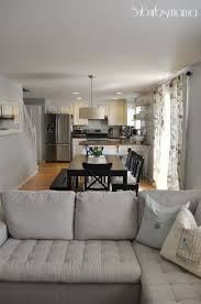 Kitchen Dining Room And Living All In One