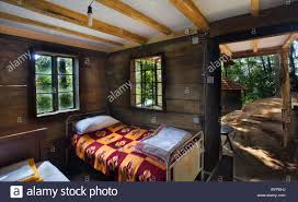 100 Wooden Houses Interior House Traditional Serbian Stock Photos